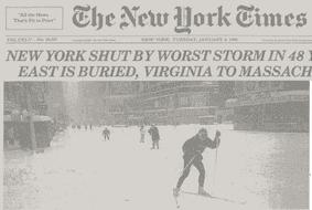 1996 blizzard